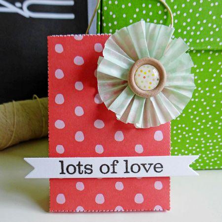 Tag set - lots of love