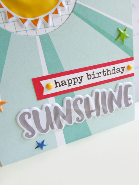 Happy birthday sunshine - 2016-07-21 - koolkittymusings.typepad.com using Elle's Studio Sunny Days