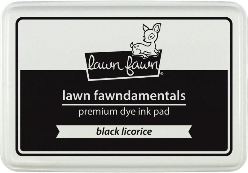 Lawn Fawn - Black Licorice ink pad