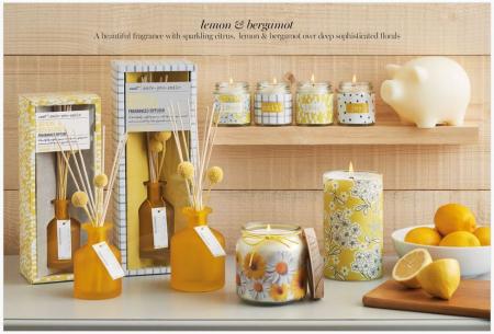 Next lemon and bergamot home fragrance