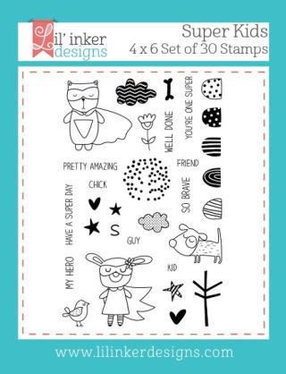 Lil' Inker Designs - Super Kids