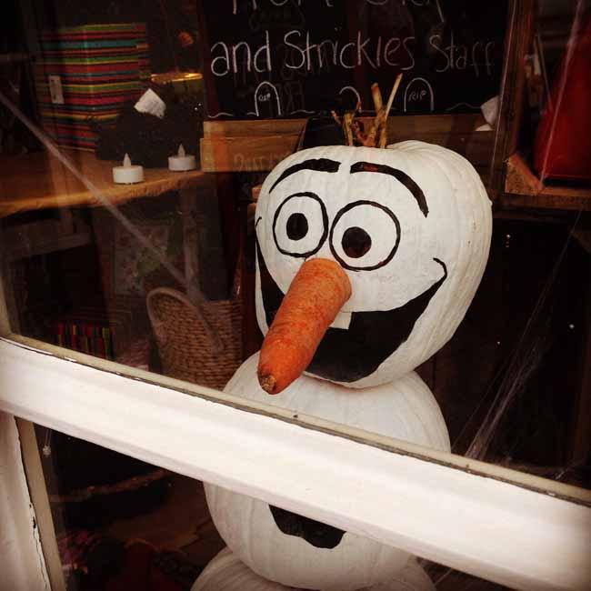 Pumpkin Olaf_sm
