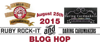 RR and Daring Cardmakers Blog Hop