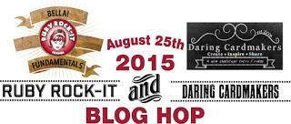 RR and Daring Cardmakers Blog Hop