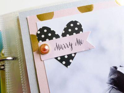 My Mind's Eye - Fancy That - Wedding gift album - detail 1