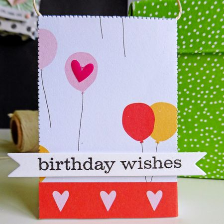 Tag set - birthday wishes