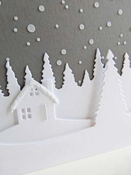 Christmas cottage scene - 2016-10-14 - koolkittymusings.typepad.com using Concord & 9th die set
