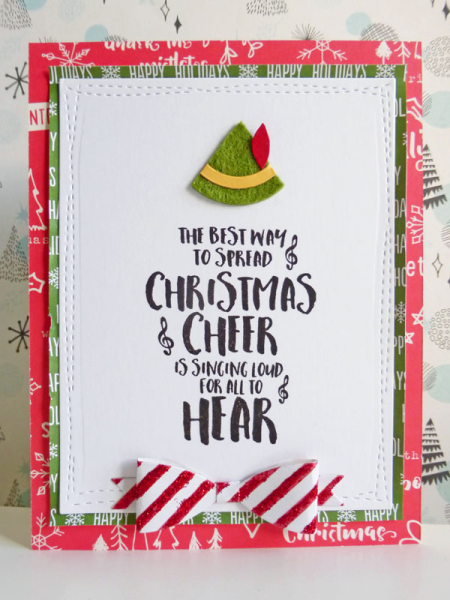 Elf inspired Christmas card - 2016-11-02 - koolkittymusings.typepad.com