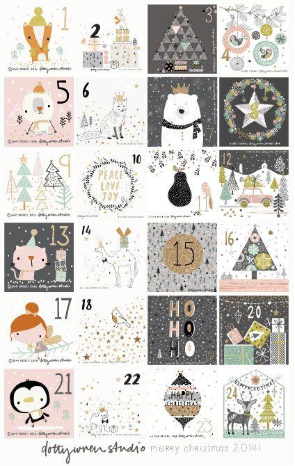 12 - Dec Christmas prompt