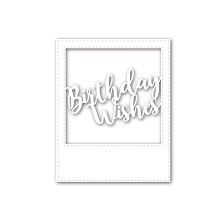 SSS - Birthday Wishes Frame