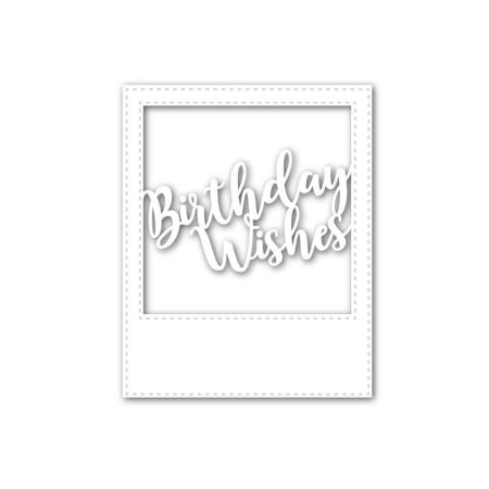 SSS - Birthday Wishes Frame