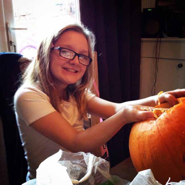 Pumpkin gutting_sm