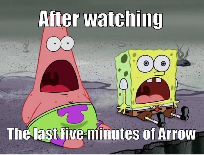 Last five minutes of arrow