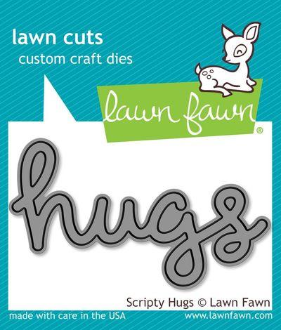 Lawn Fawn  - Scripty Hugs
