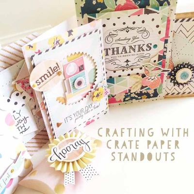 Crafting with Crate Paper Standouts large_sm