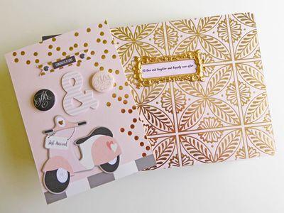 My Mind's Eye - Fancy That - Wedding gift album and card