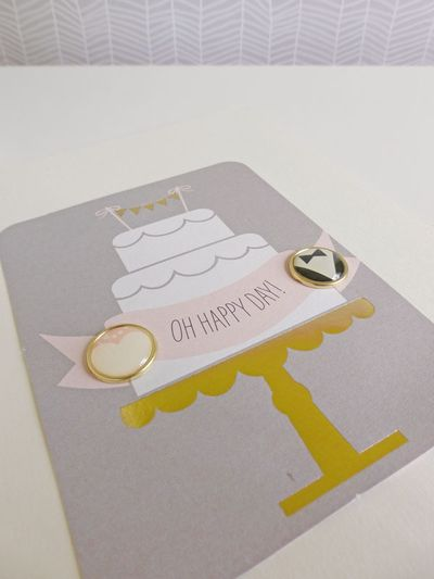 My Mind's Eye - Fancy That - Wedding card 2 - detail