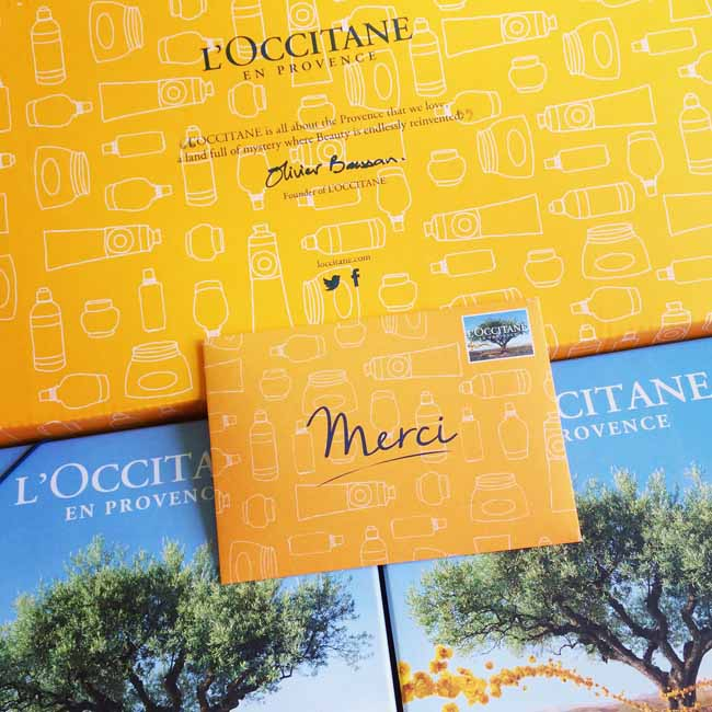 A little something from L'Occitane_sm