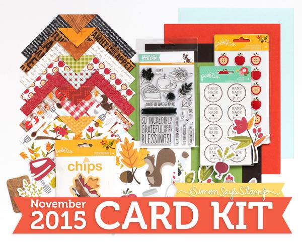 Simon Says Stamp Nov 2015 kit