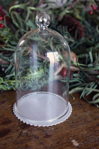MF glass dome ornament