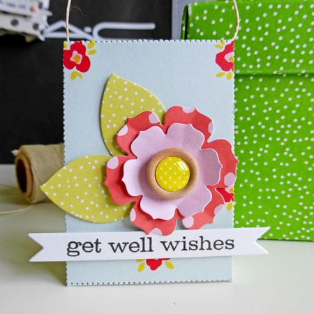 Tag set - get well soon