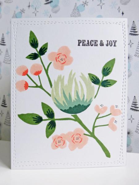 Peace & Joy - 2016-11-06 - koolkittymusings.typepad.com using Concord & 9th Flourish stamps
