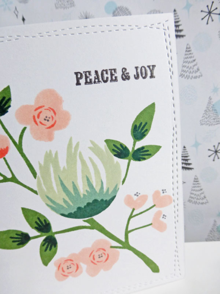 Peace & Joy - 2016-11-06 - koolkittymusings.typepad.com using Concord & 9th Flourish stamps