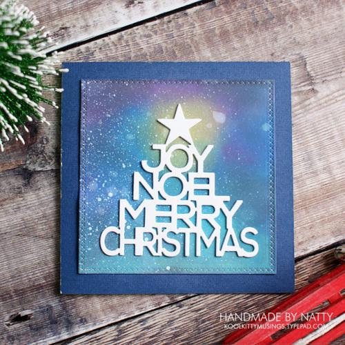 Starry sky Christmas tree greetings - 2017-11-04 - koolkittymusings.typepad.com