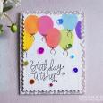 Rainbow birthday balloons - 2019-01-26