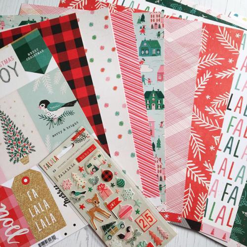 Crate Paper Fa la la_sm