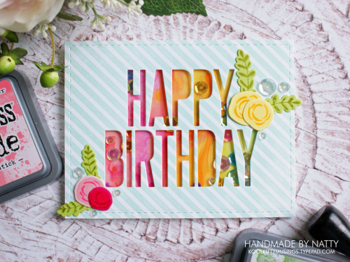 Happy Birthday rainbow shaker - 2019-03-20 - koolkittymusings.typepad.com