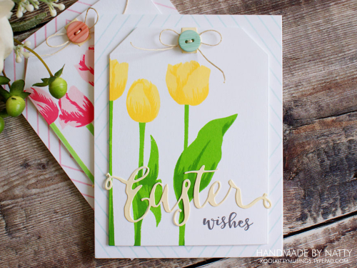 Yellow Easter tulips - 2019-04-18 - koolkittymusings.typepad.com