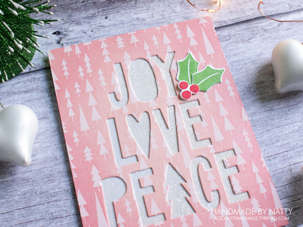 Joy, Love, Peace card - 2019-11-18 - koolkittymusings.typepad.com