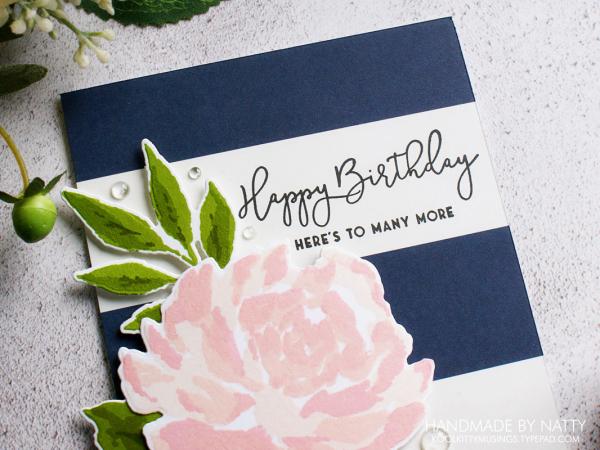 Happy birthday rose card - 2020-01-06 - koolkittymusings.typepad.com