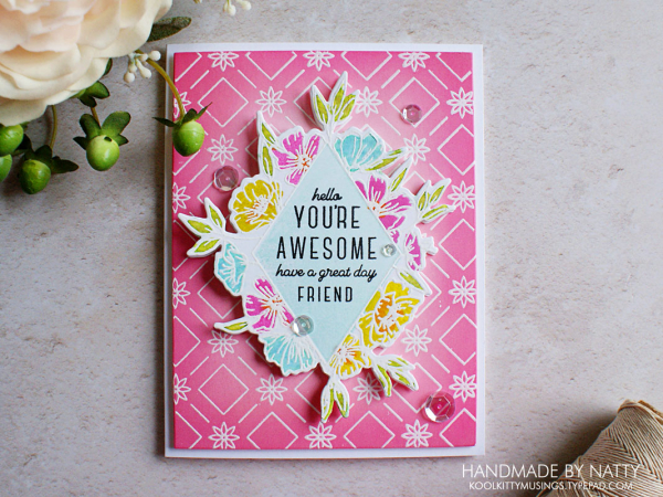 You're awesome - 2020-06-15 - koolkittymusings.typepad.com