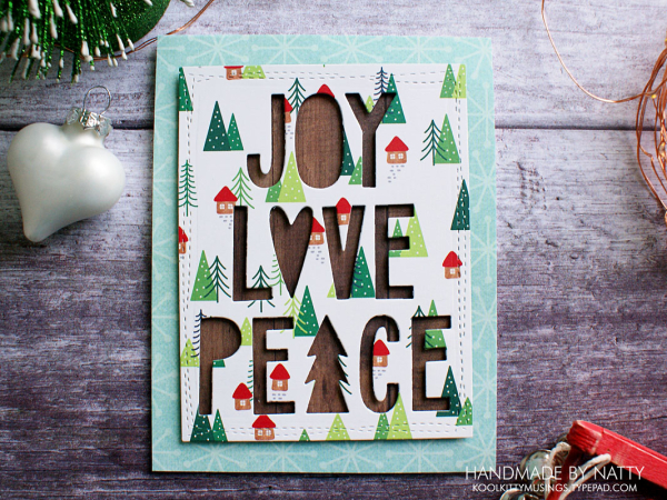 Joy, Love, Peace - Christmas Countdown Day 21 - koolkittymusings.typepad.com