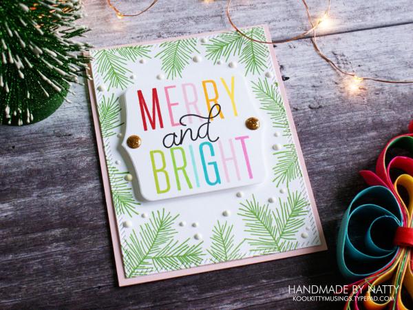 Merry & Bright - Christmas Countdown Day 32 - koolkittymusings.typepad.com