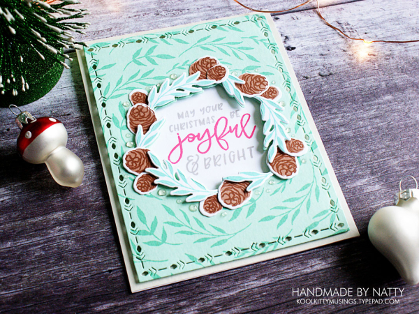 Joyful Wishes - Christmas Countdown Day 33 - kollkittymusings.typepad.com