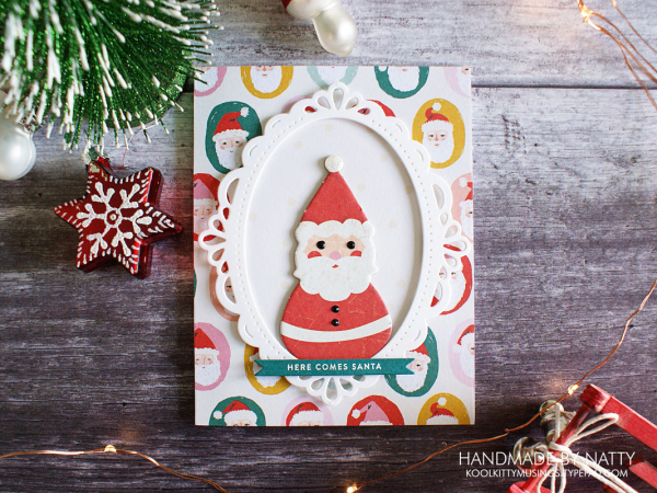 Here comes Santa - Christmas Countdown Day 48 - koolkittymusings.typepad.com