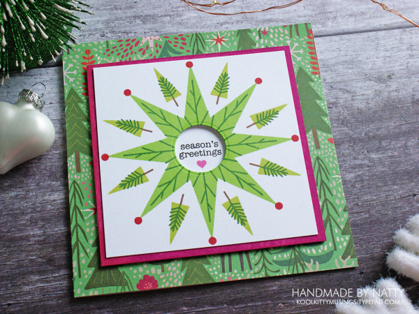 Woodland Wreath - Christmas Countdown Day 15 - koolkittymusings.typepad.com