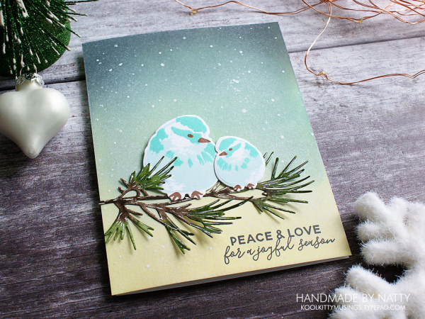 Peace & Love - Christmas Countdown Day 16 - koolkittymusings.typepad.com