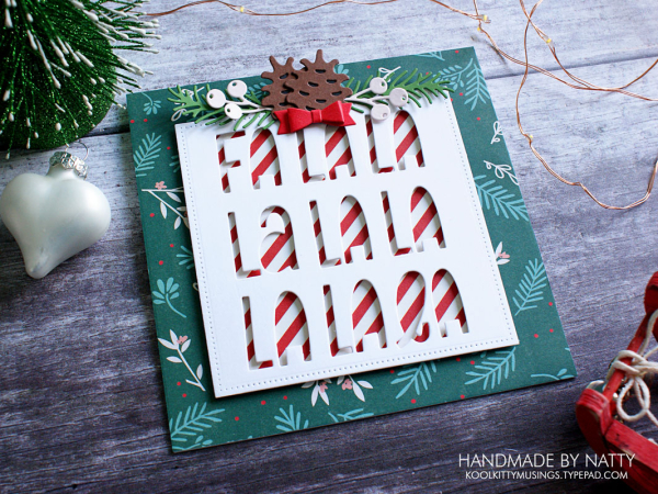 Fa La La - Christmas Countdown Day 28 - koolkittymusings.typepad.com