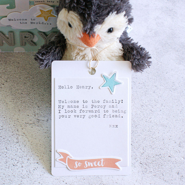 Percy penguin's message_sm