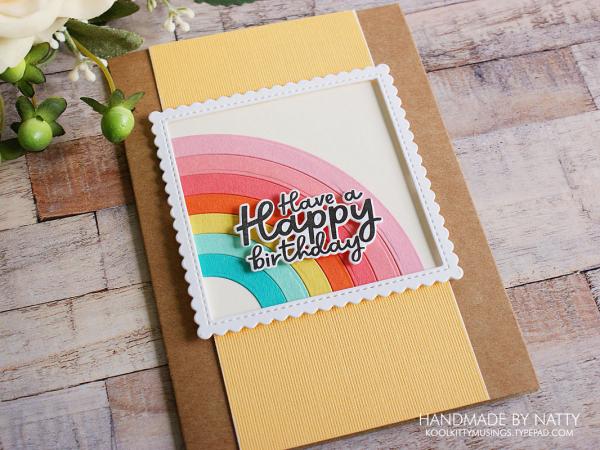 Rainbow birthday greetings - 2021-08-28 - koolkittymusings.typepad.com