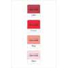 Altenew - Red Sunset ink cube set