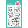 Avery Elle - Comfort & Joy stamps