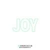 Concord & 9th - Joy die