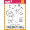 WPlus9 - Holiday Hugs stamps (r)