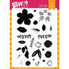 WPlus9 - Southern Summer Florals 2 stamps