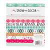 Crate Paper - Snow & Cocoa - 6x6 paper pad (r)